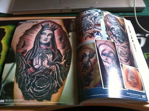Tatuagens de Virgem Maria (46)