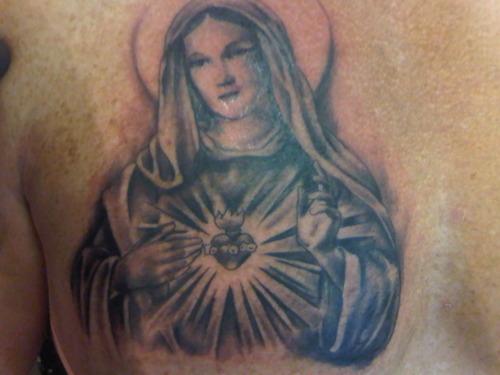 Tatuagens de Virgem Maria (42)