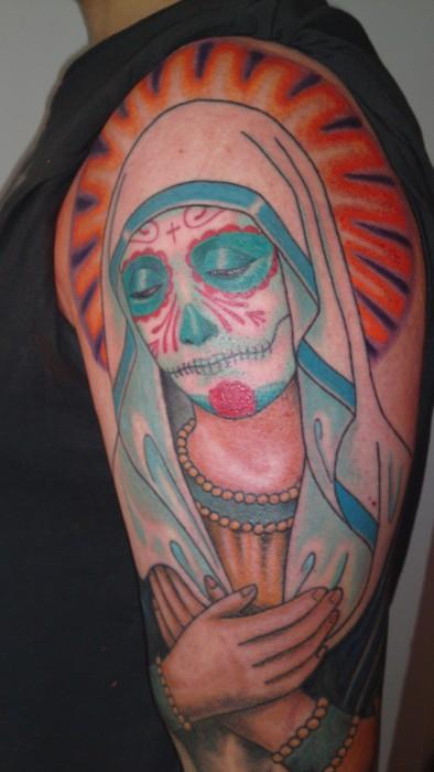 Tatuagens de Virgem Maria (41)