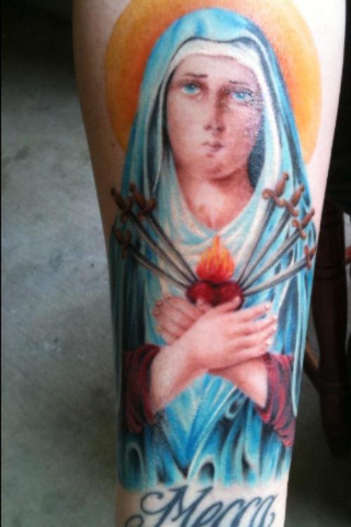 Tatuagens de Virgem Maria (1)