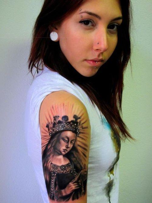 Tatuagens de Virgem Maria (38)