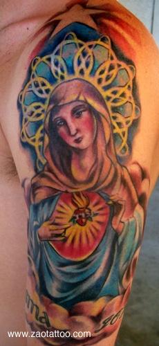 Tatuagens de Virgem Maria (37)