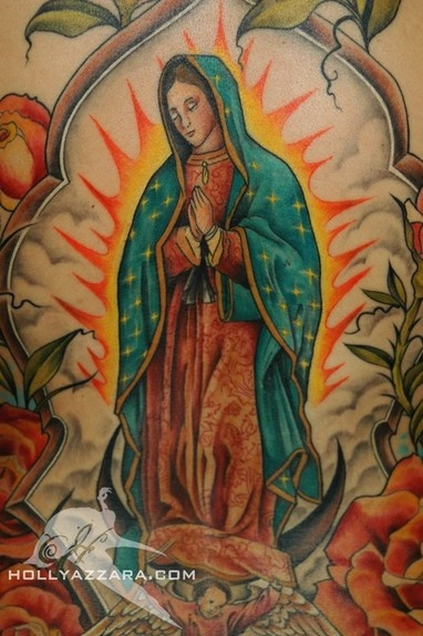 Tatuagens de Virgem Maria (36)