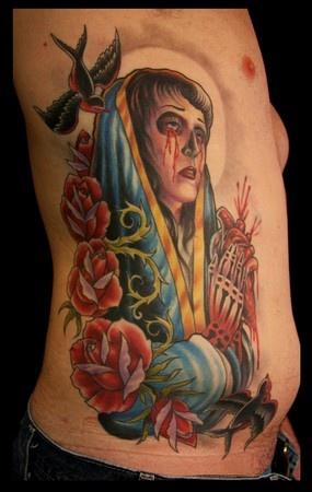 Tatuagens de Virgem Maria (35)