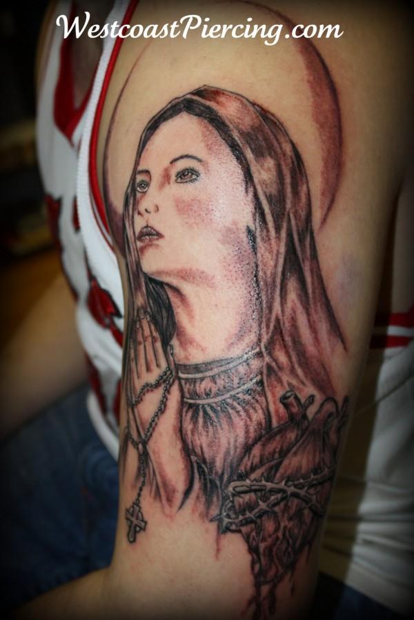 Tatuagens de Virgem Maria (33)