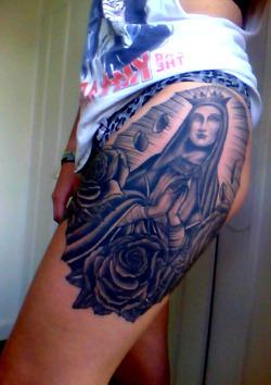 Tatuagens de Virgem Maria (32)