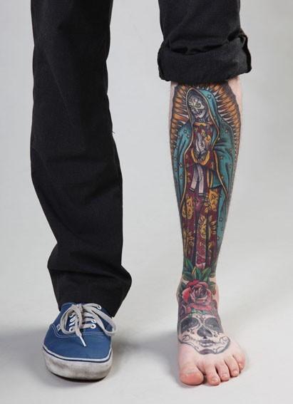 Tatuagens de Virgem Maria (31)