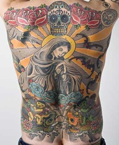 Tatuagens de Virgem Maria (30)