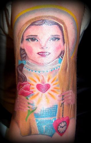 Tatuagens de Virgem Maria (29)