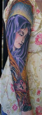 Tatuagens de Virgem Maria (28)