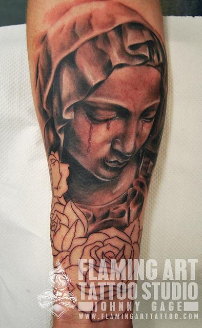 Tatuagens de Virgem Maria (27)