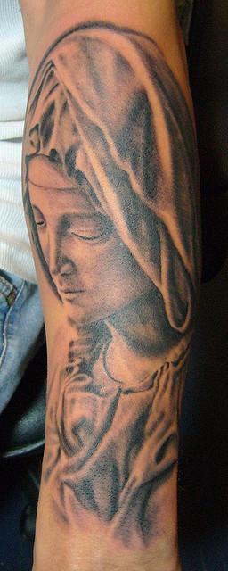 Tatuagens de Virgem Maria (26)