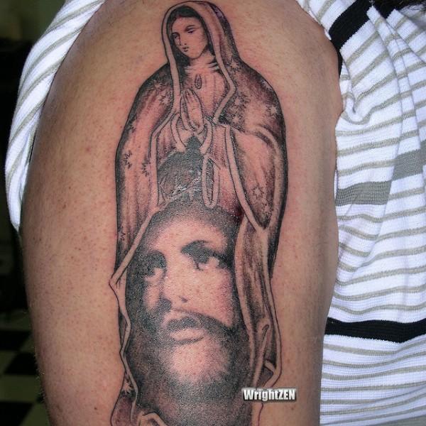 Tatuagens de Virgem Maria (25)