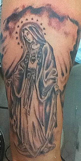 Tatuagens de Virgem Maria (23)