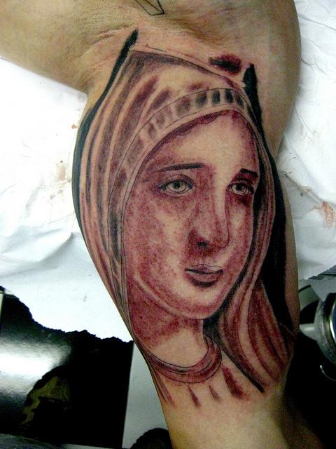 Tatuagens de Virgem Maria (22)