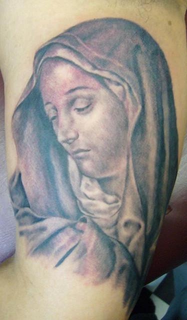 Tatuagens de Virgem Maria (21)