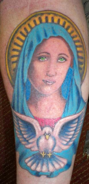 Tatuagens de Virgem Maria (19)