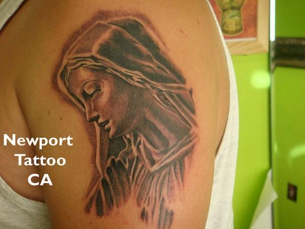 Tatuagens de Virgem Maria (17)