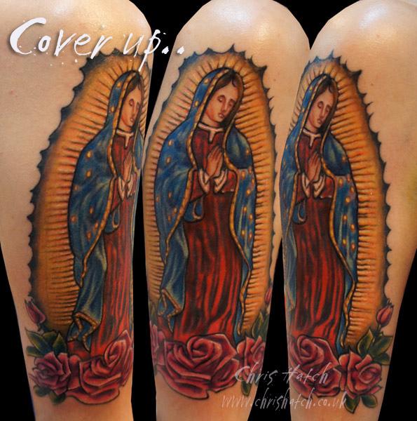 Tatuagens de Virgem Maria (16)