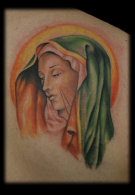 Tatuagens de Virgem Maria (15)