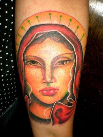 Tatuagens de Virgem Maria (13)