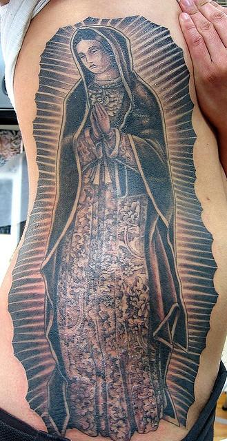 Tatuagens de Virgem Maria (10)