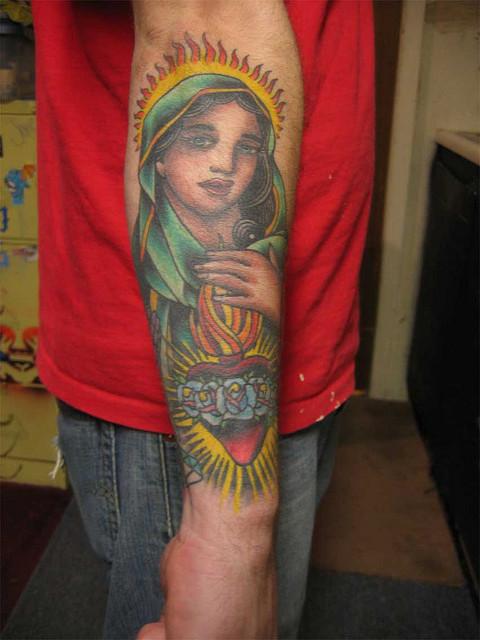 Tatuagens de Virgem Maria (9)