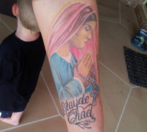 Tatuagens de Virgem Maria (6)