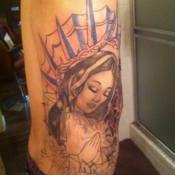 Tatuagens de Virgem Maria (4)
