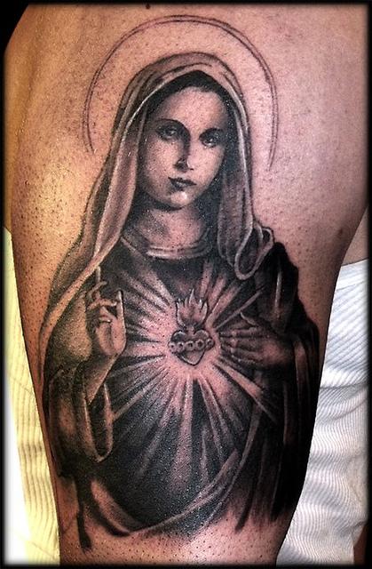 Tatuagens de Virgem Maria (3)
