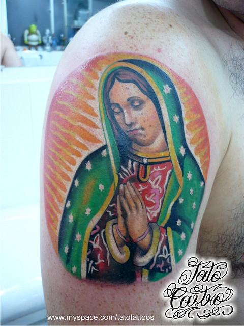 Tatuagens de Virgem Maria (2)