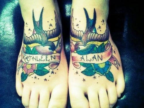Tatuagem de andorinha (2)