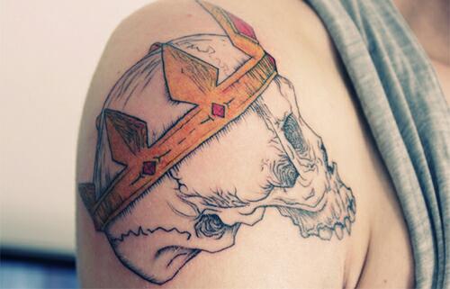 Skull Tattoos  (45)