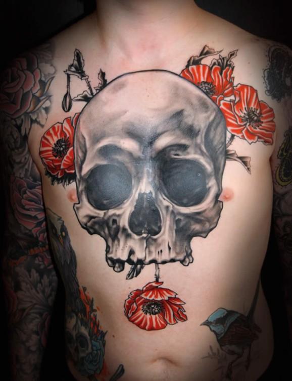 Skull Tattoos  (40)