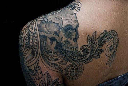 Skull Tattoos  (24)