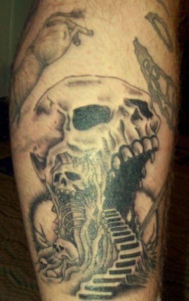 Skull Tattoos  (17)