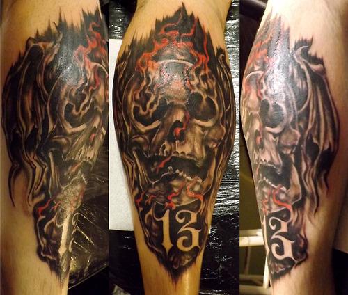 Skull Tattoos  (11)