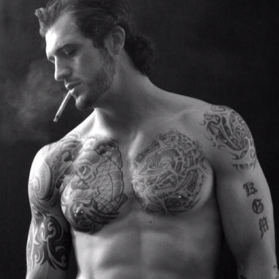 Fotos de homens muito tatuados (41)