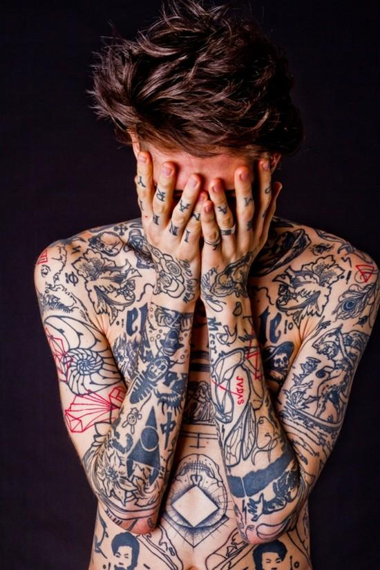 Fotos de homens muito tatuados (39)