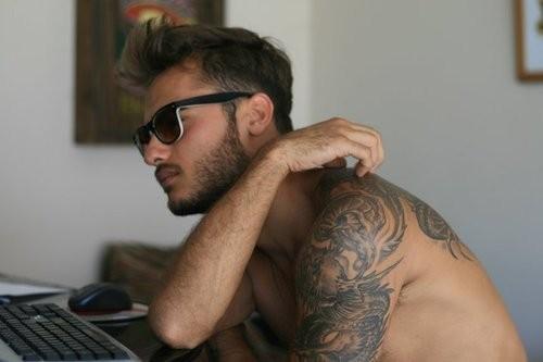 Fotos de homens muito tatuados (34)