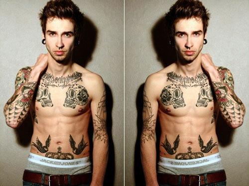 Fotos de homens muito tatuados (31)