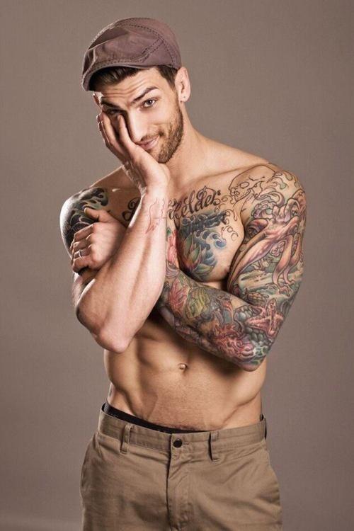 Fotos de homens muito tatuados (30)