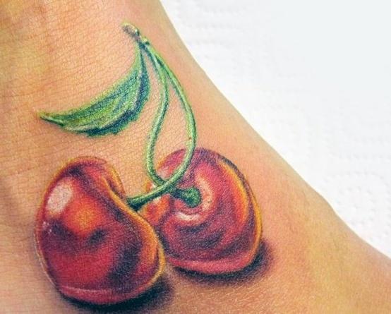 Tatuagens de Cerejas (45)