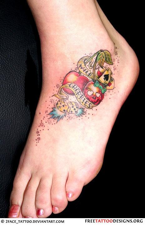 Tatuagens de Cerejas (40)