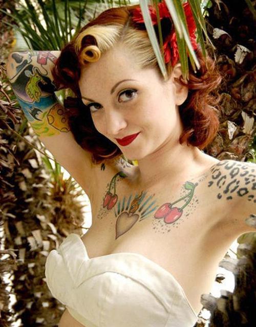 Tatuagens de Cerejas (39)