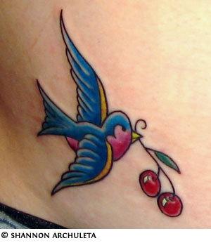 Tatuagens de Cerejas (13)