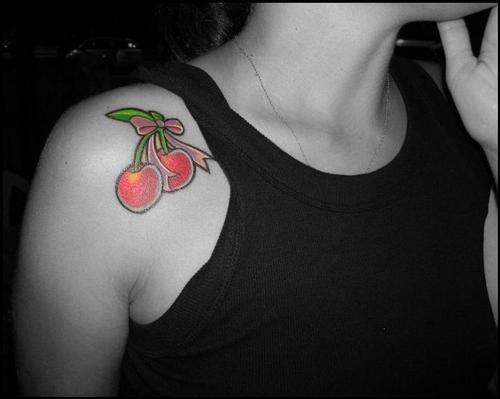 Tatuagens de Cerejas (7)