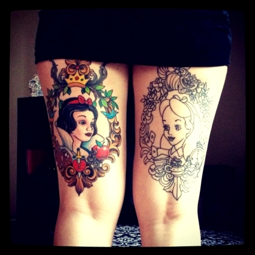 Tatuagens de personagens Disney (70)