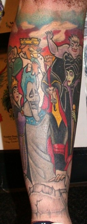 Tatuagens de personagens Disney (65)