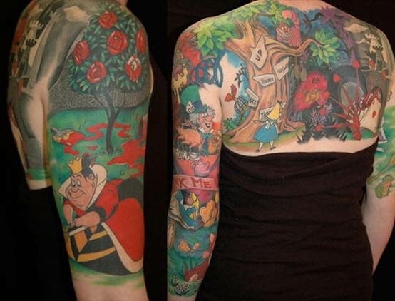 Tatuagens de personagens Disney (51)